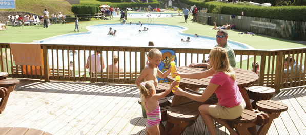 Newquay Holiday Park Outdoor Pool
