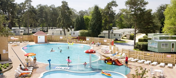 Sandford Holiday Park Outdoor Swimming Complex